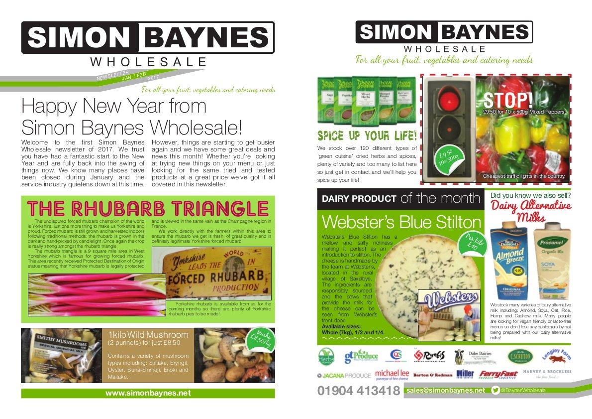Simon Baynes January February 2017 Newsletter